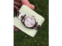 Ladies Rolex Datejust 179161 rose gold