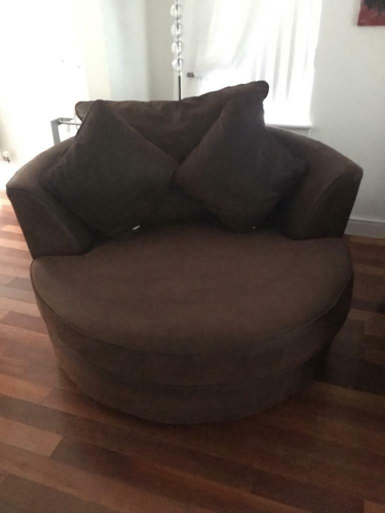Cuddle Swivel Chair In Livingston West Lothian Gumtree