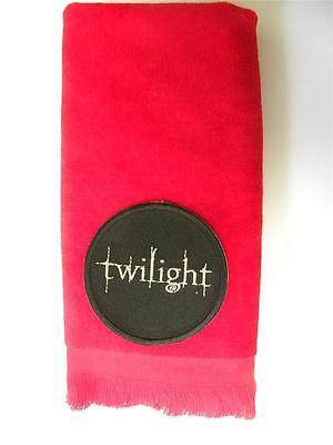 Twilight fingertip TOWEL FREE SHIPping vampires halloween red applique