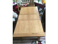 Extending dining table - cargo homestore - solid wood
