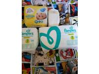 Pampers premium protection size 2 2x40