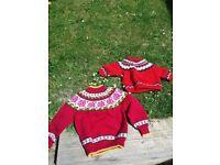 Original 2nd hand Icelandic wooly jumpers