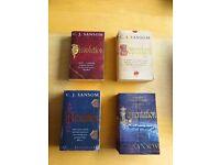 Four CJ Sansom historical novels from the Shardlake series