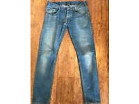 Men's blue Armani jeans - 30W / 29L slim fit