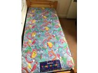 Kids cot with mattress