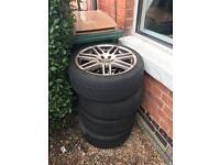 18 inch vw golf tyre's