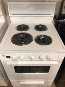Inglis 24 Wide Apartment Size Stove, Free 30 Day Warranty, Save The Tax Event