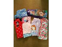 Girls pyjamas Age 5/6 years. Frozen, Minnie mouse, Sofia.
