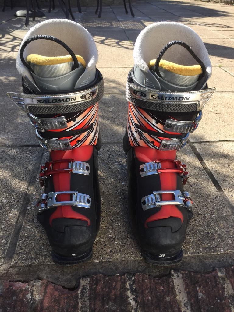 Veröffentlichungsdatum Junge Sonderverkäufe Salomon x-Wave 9.0 ski boots (size 27.5) | in South East London, London |  Gumtree