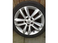 Set of 4 Alloy Wheels with Tyres to fit Vauxhall Vectra 215/50Z/17R ★★★10 SPOKE★★★