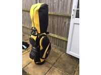RESERVED - King Cobra golf clubs - irons, woods, putter, bag and accessories