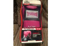LADIES LONSDALE PINK BOXING GLOVES