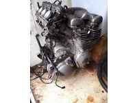 Yamaha 600cc Divvy engine