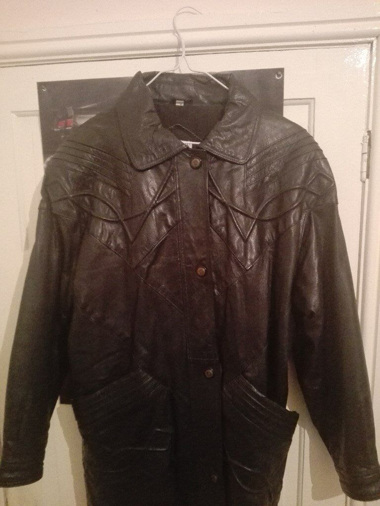 Womans leather jacket, only worn once