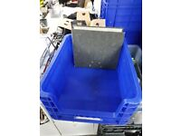 Solid, Stackable Plastic Boxes - Quick Sell
