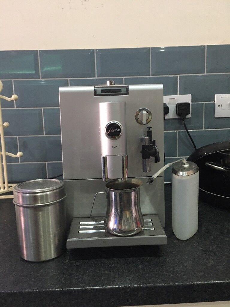 Jura Ena 7 Coffee Machine Rrp 599 In Epsom Surrey Gumtree