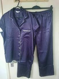 NEW M&S Silky Pajamas, size 14
