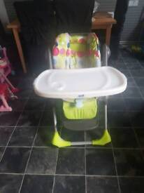 Chico unisex high chair