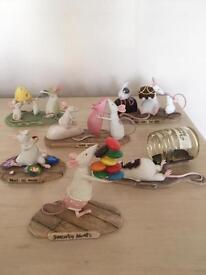 Mouse ornaments