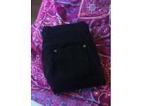 Marks and Spencer's black bootcut jeans - size 12