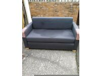 Sofa bed in good condition, lies flat on the floor, suitable for kids room etc, v.good condition
