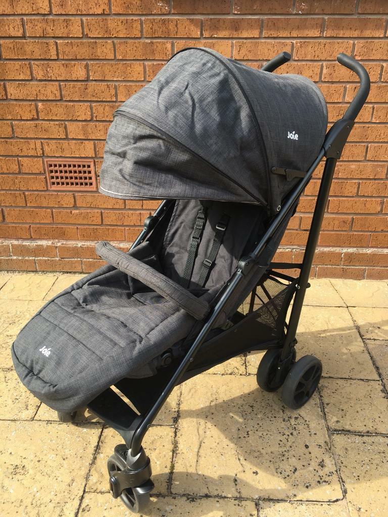 Joie Brisk Lx Stroller Pushchair With Footmuff Pavement ...