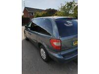 For sale crysler voyager 2.4 petrol. CAM BELT snapped last week. Mot till june 18 £500 ono
