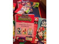 Leap pad learning system large bundle excellent condition