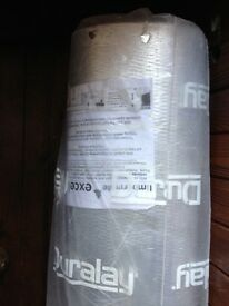 Duralay Timbermate Excel 3.6m m Foil Wood Laminate Flooring Underlay 15mSq Roll