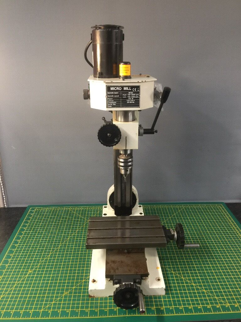 Chester Cobra Mill Micro Milling Machine In Duns