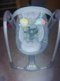 Petite Baby Swing Chair