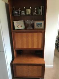 G. Plan Retro Drink & Display Cabinet