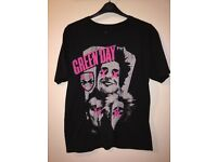 Green Day official band t shirt