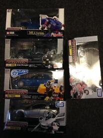 Transformers takara models boxed X5 V G condition