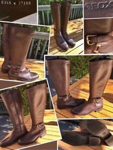"""""""GEOX""""LIKE NEW Stunning all leather riding boots"""