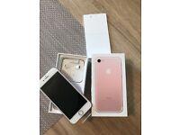 Iphone 7, 32GB Rose Gold