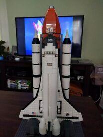 Nasa Space Shuttle Model Brick Building Block Set Playset