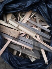 Free firewood to collect. Couple of bags.