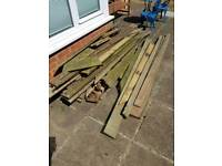 Free decking boards for collection