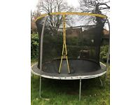 10 Foot Trampoline With Enclosure