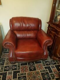 Leather Armchair, Great Condition