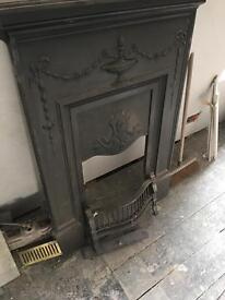 Cast iron Fire Surround and Hearth