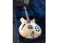 1992 Rickenbacker 330/6 Blonde May Trade Gibson