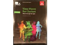 Time Pieces for Clarinet, Music through the ages, Volume 3 for Grades 4 - 5 ABRSM