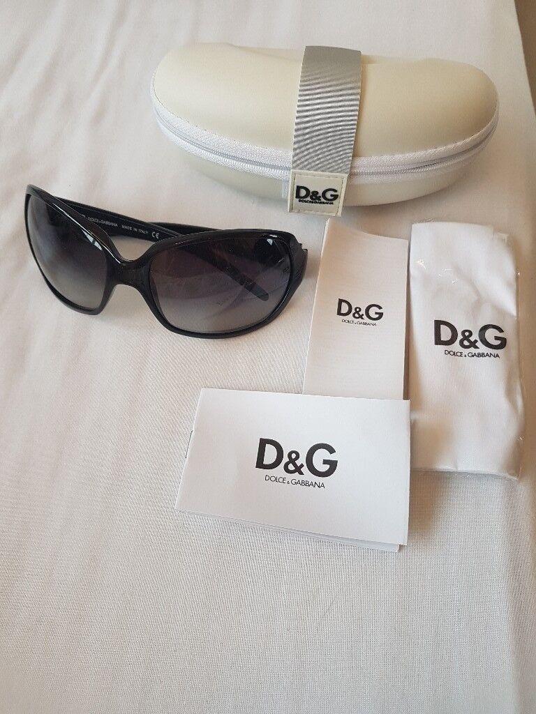 D&G black sunglasses ladies - GENUINE NEW