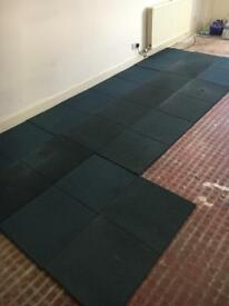 Rubber mats 1m long 0.5m wide