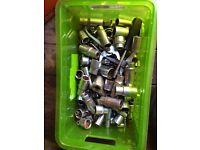 Box of mixed sockets