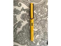 Lamy yellow fountain pen