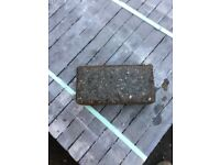 20sq yard grey block pavers (used) 65mm deep