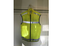 Cycling Bike Bicycle Hi Viz Vis High Visibility Jacket Yellow for Sale
